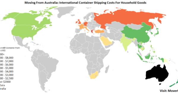 2019 Overseas Cargo & Freight Costs From Australia – MoverDB com