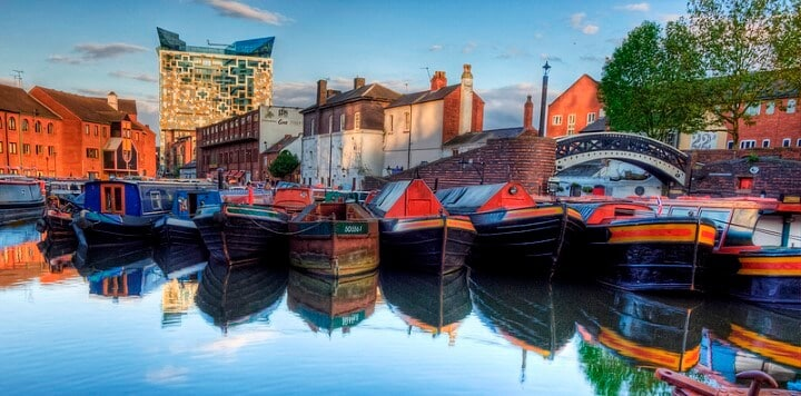 Moving to Birmingham, UK