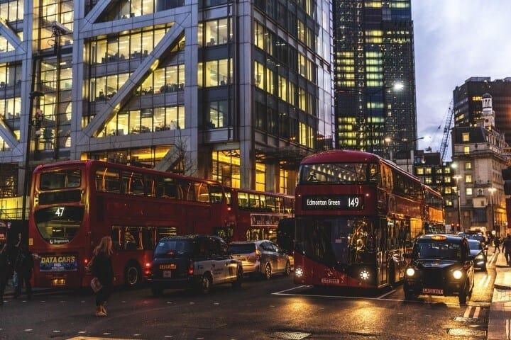 Traffic in City of London