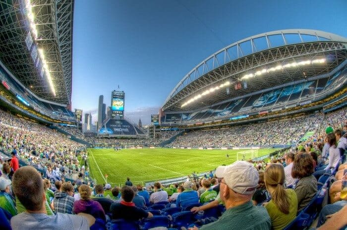 Stadium in Seattle