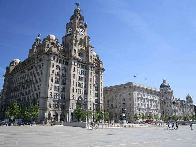 The Three Gaces Liverpool