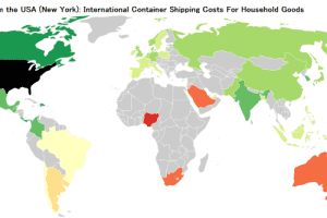 2017 International Container Shipping Rates & Costs