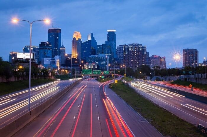 Minneapolis Roads