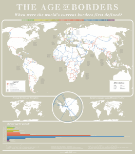 Stunning Map Showing The Age of The World's Borders